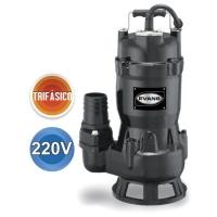 Bomba sumergible para lodos, descarga 2″,220v, 1hp, 3f mod. SV2ME0100G
