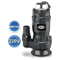 Bomba sumergible para lodos, descarga 2″, 220v, 1f, 1hp mod. SV2ME100G